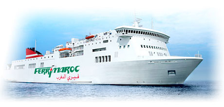 bateau maroc spain